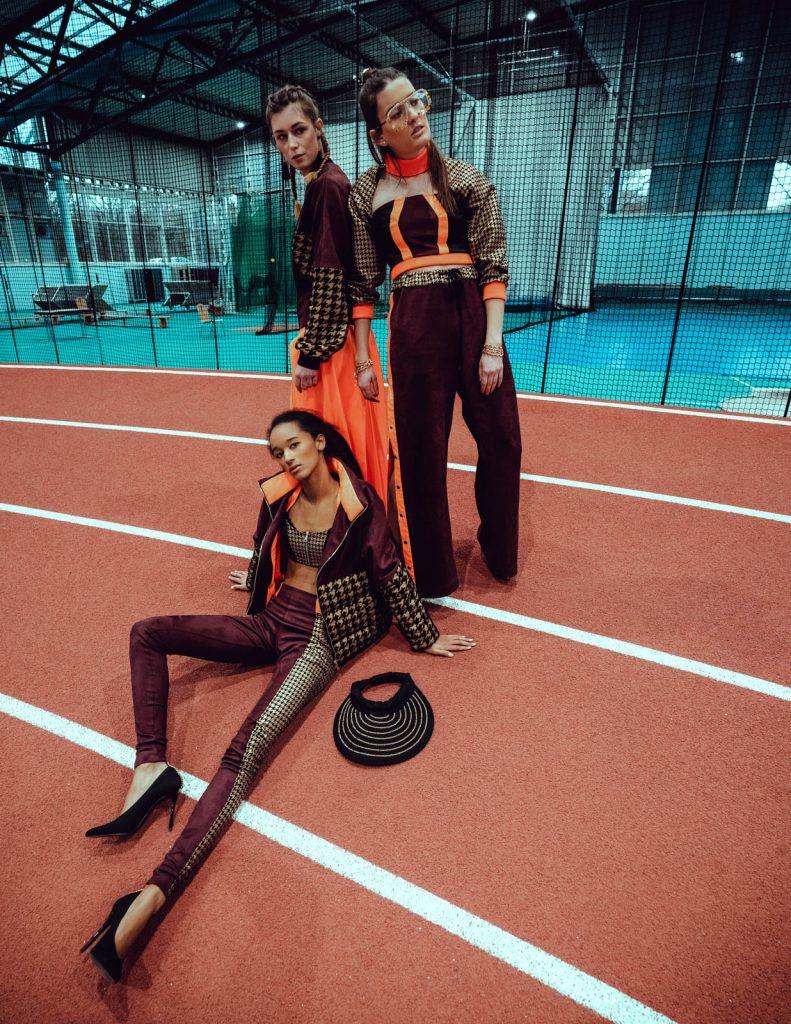 Fashion Shooting Bachelorarbeit Designer